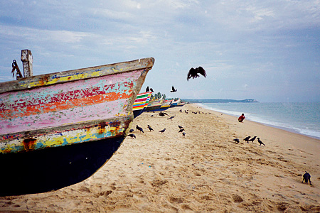 fishing boats, Trivandrum